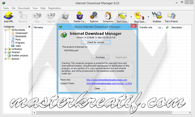 Internet Download Manager 6.23 Build 11