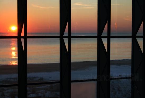 Jennifer Triplett Geometric Sunrise