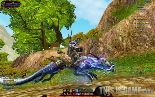 Những hình ảnh cận cảnh về MMORPG ASTA 9
