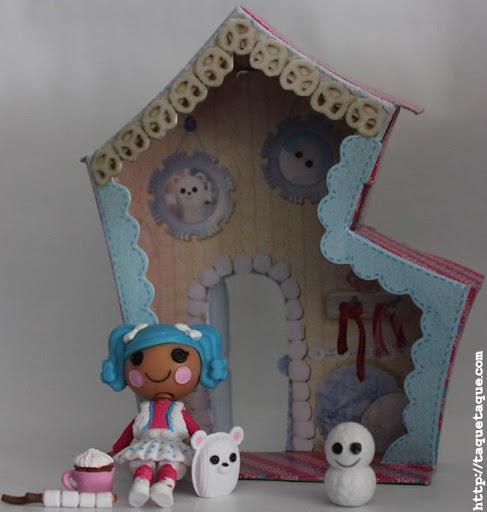 mi mini Lalaloopsy Mittens Fluff 'n' Stuff, con su mascota, accesorios y su casa
