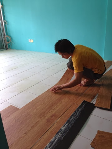 Ambrynaa S Photo Diary House Makeover Part 3 Vinyl Floor