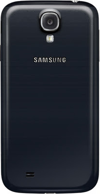 Rear view image of samsung galaxy s4
