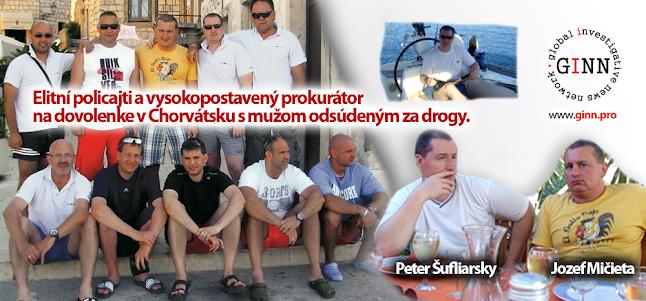 Šufliarsky a Lučanský boli na dovolenke s podnikateľom, ktorý má kvôli drogám zákaz vstupu do Švajčiarska