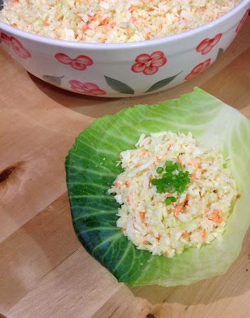 Surówka coleslaw ,kapusta biała, surówka, salatka z kapusty