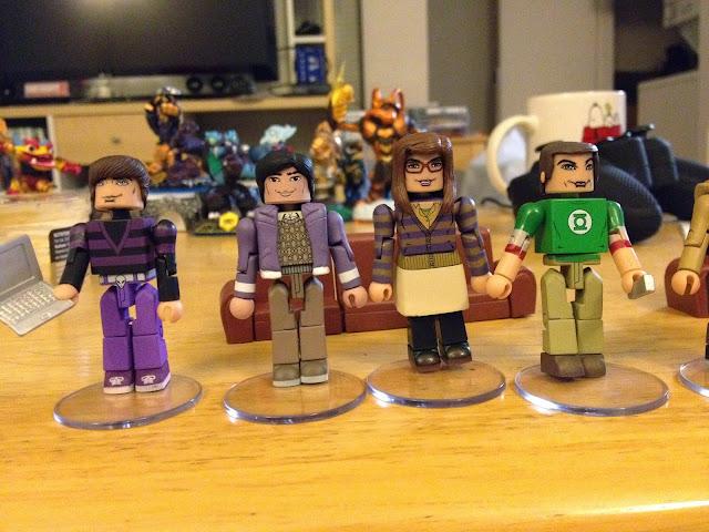 Big Bang Theory Minimates # 2 Box Set