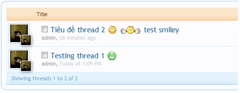[XenForo] ChipXf - Show smilies on thread title (fixed) - Image 2