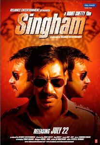 Chàng Cảnh Sát Singham - Singham poster