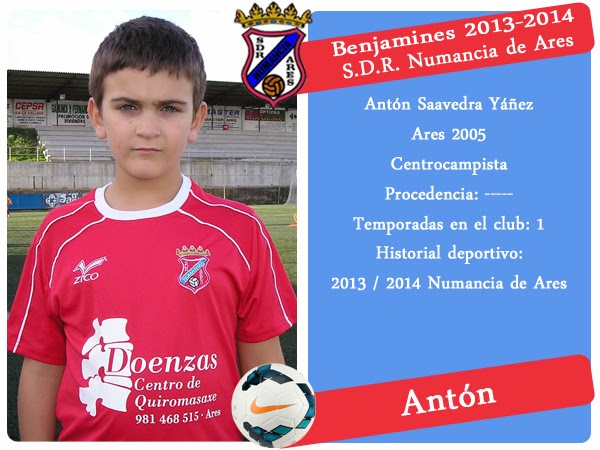 ADR Numancia de Ares. ANTON