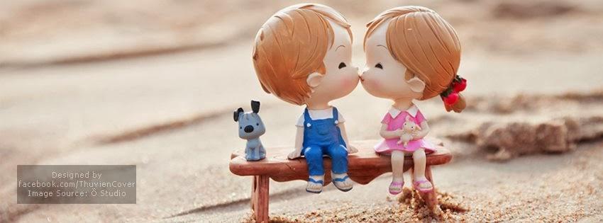Ảnh bình tình yêu trẻ thơ trong phim hoạt hình