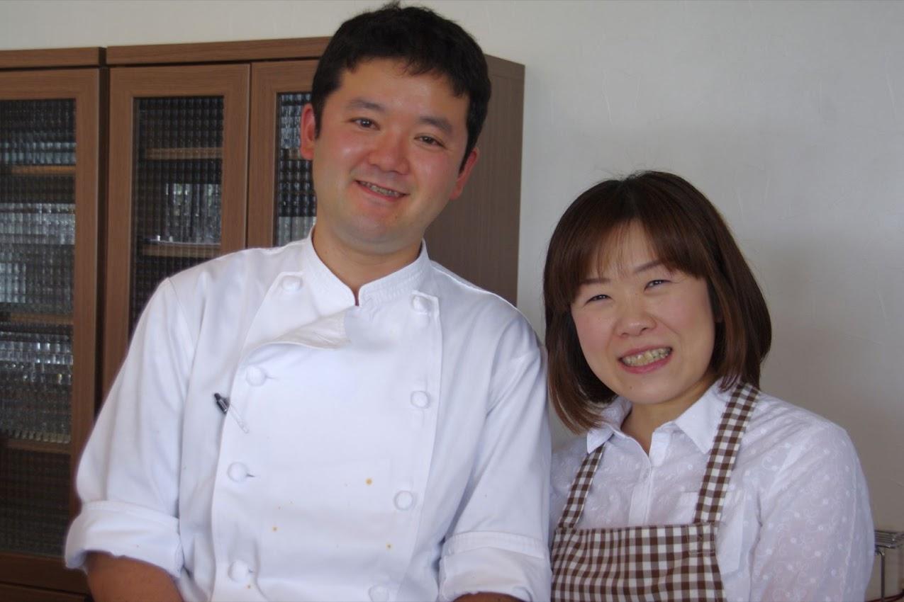 オーナーシェフ・今泉光則さんと奥様