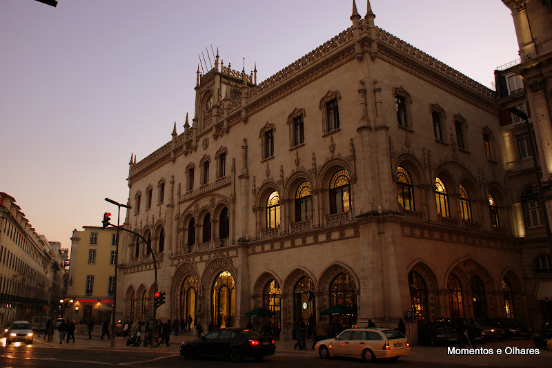Lisboa, estação do Rossio, Portugal