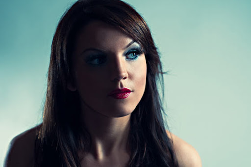 ojos muy azules