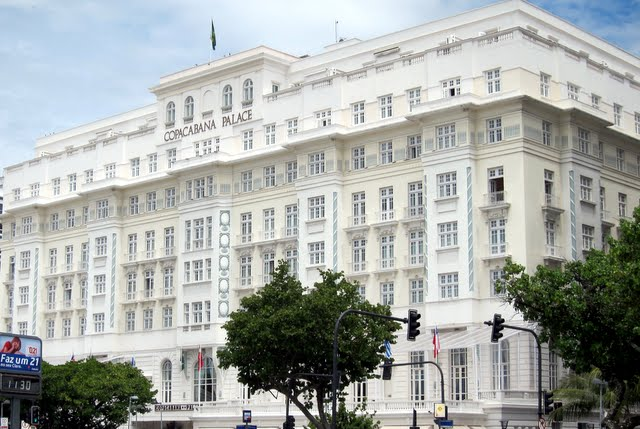 Copacabana Palace Hotel in Rio de Janeiro Brazil