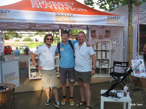 Ironman - партнеры Сквизи из Германии