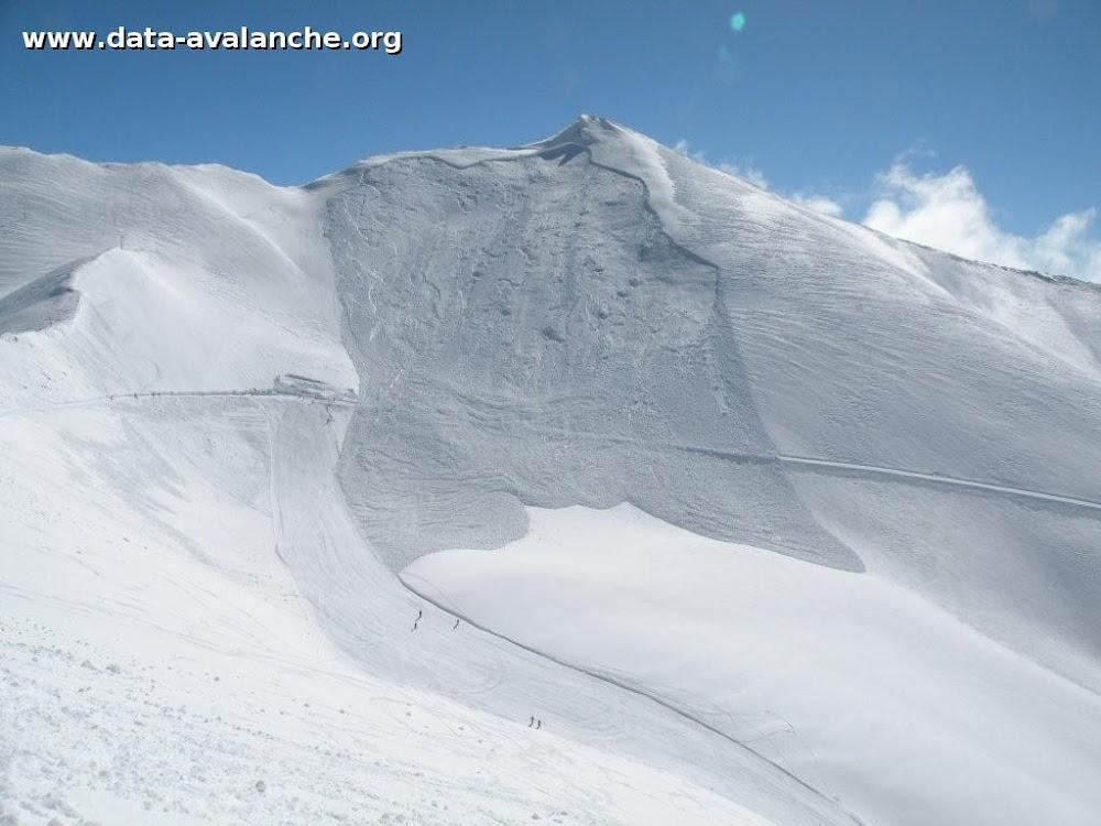 Avalanche Mont Thabor, secteur Pointe du Fréjus, Face Ouest - Photo 1