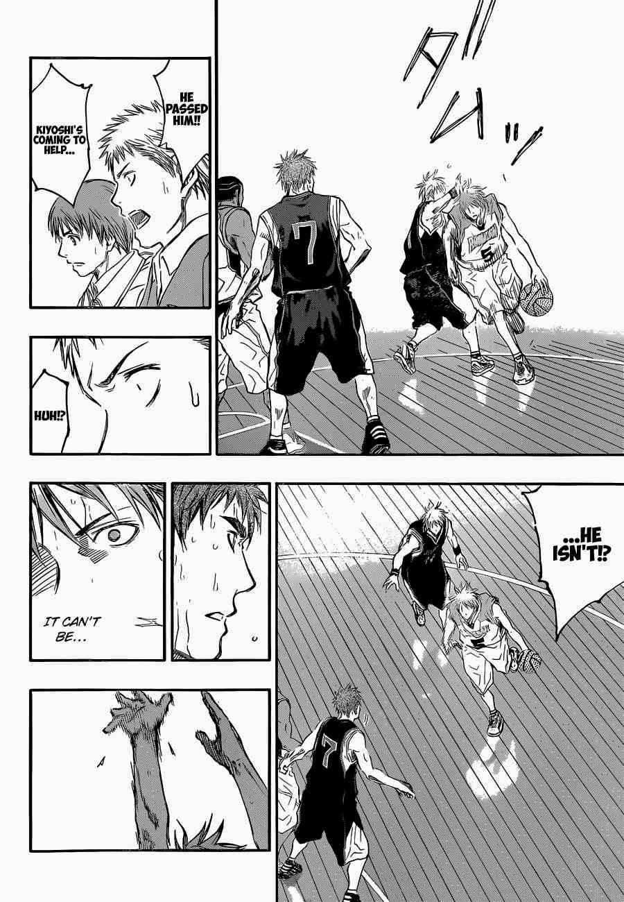 Kuroko no Basket Manga Chapter 248 - Image 12