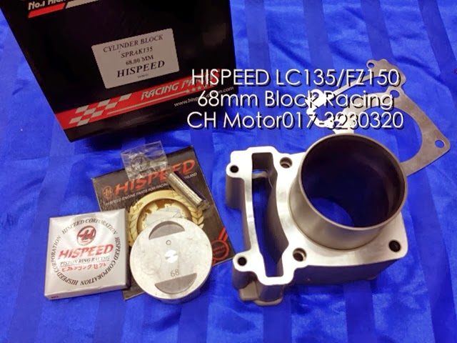 Head Racing Lc135 Lc135 68mm Block Racing