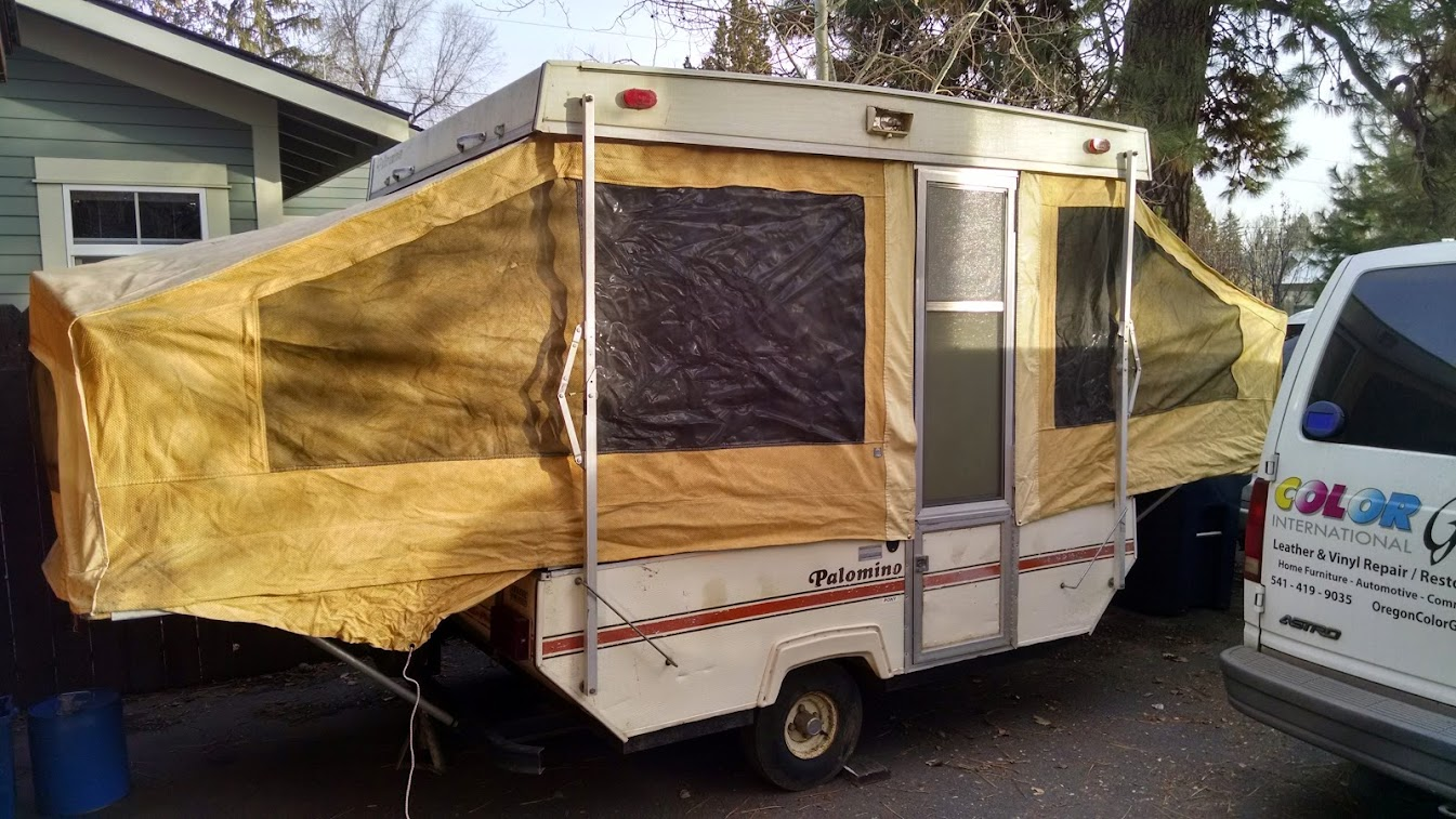 just got an old palomino pony in bend or popupportal rh popupportal com palomino rv owners manual Used Palomino Campers Bronco