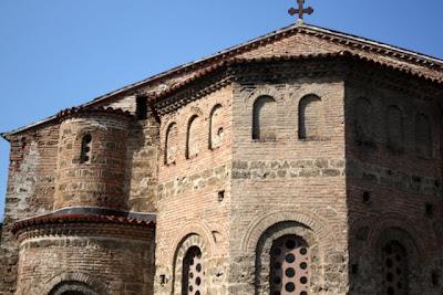 Sveta Sofija cathedral in Ohrid
