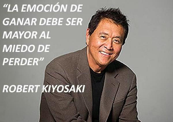 Frase de Robert Kiyosaki