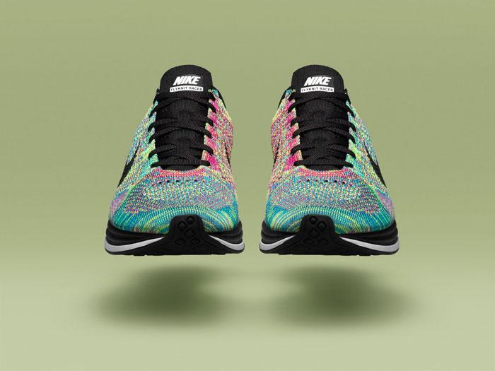 *Nike Flyknit Racer 限量Multi-Color 高科技慢跑系列:歐洲搶先上市! 2