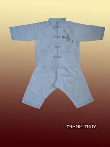 Chinese button Pajamas