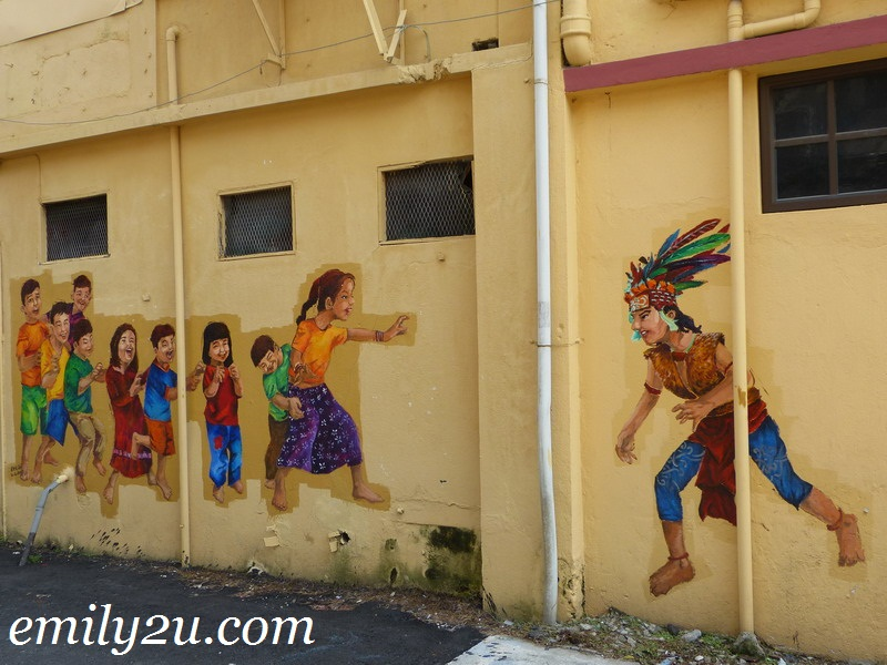 Ipoh wall art mural