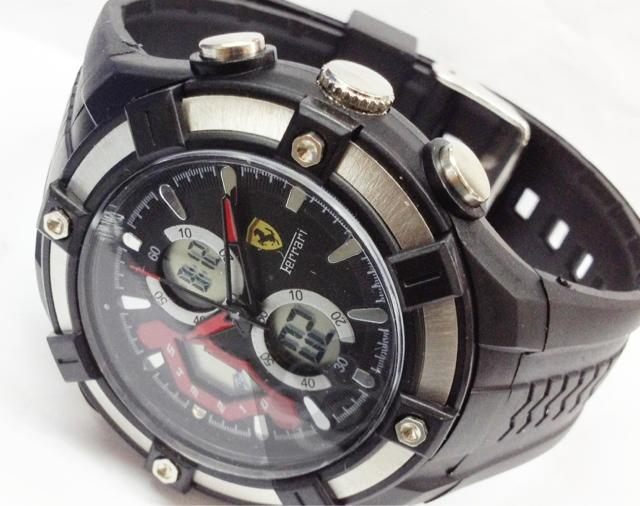 Jam Tangan Ferrari Murah Jam Tangan Pria Ferrari Sport