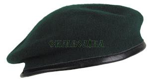 Берет зелений для прикордонників: 10104В MFH