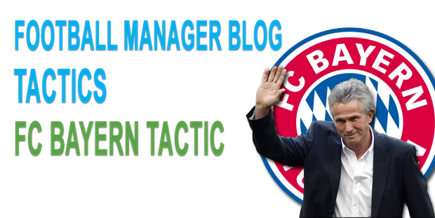 FC Bayern tactic for FM 2012
