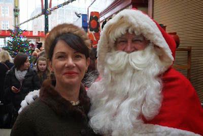 Gill and Santa