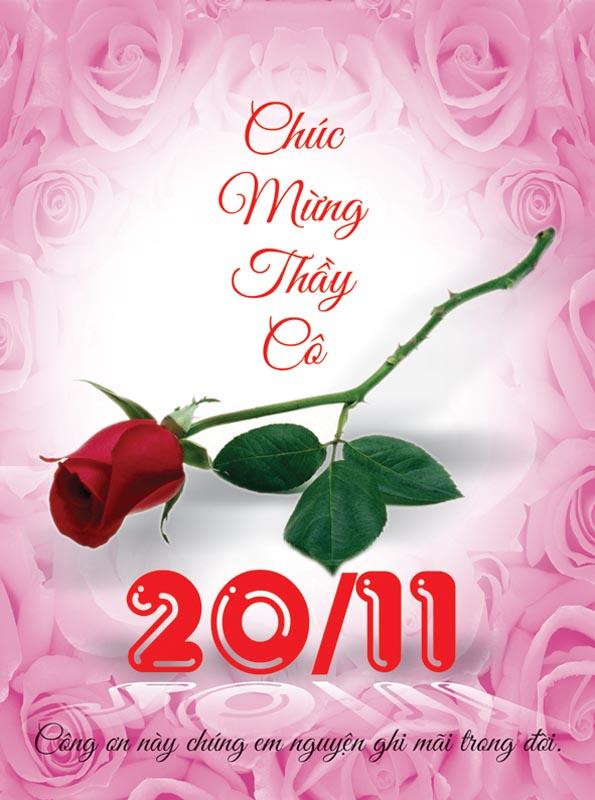 Ảnh hoa hồng chúc mừng 29-11