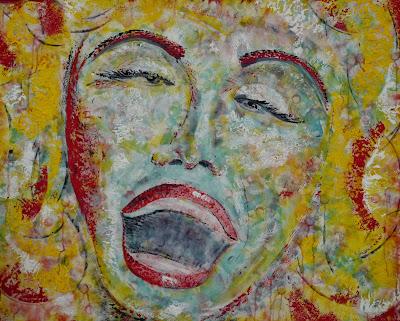 Title : The Song  Medium: Acrylic on Canvas  Size : 120 x 150cm
