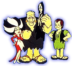 The Flintstones (Los Picapiedra): The Frankenstones