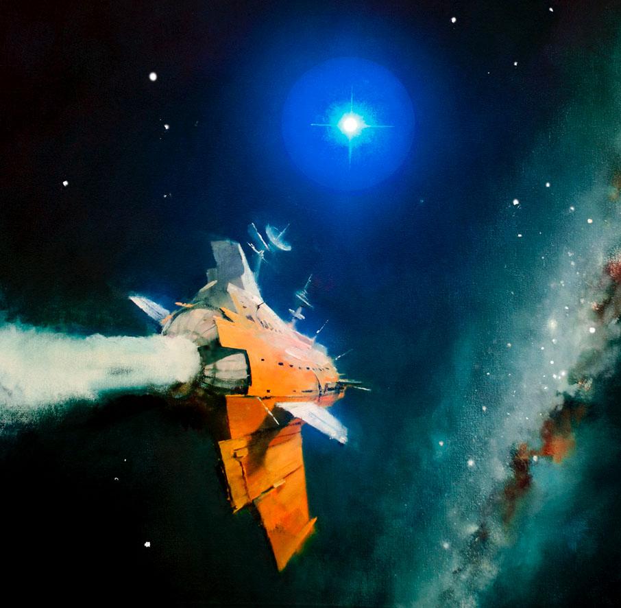 Space And Scifi Things With Zmodeler: Dark Roasted Blend: Pulp Pleasures: Eando Binder