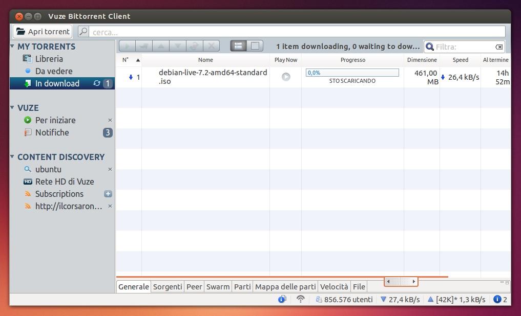 how to download torrents in vuze