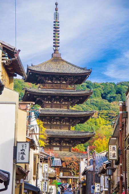 京都 八坂の塔 写真2