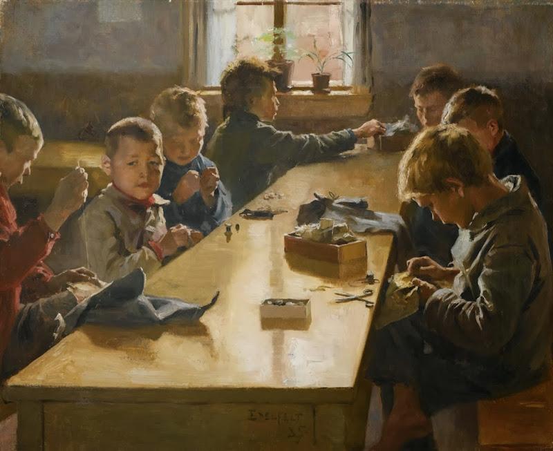 Albert Edelfelt - The Boys' Workhouse, Helsinki