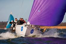 J/97 Jika Jika offshore family salboat- sailing fast off England