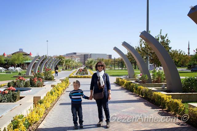 Masal Park girişi, Gaziantep