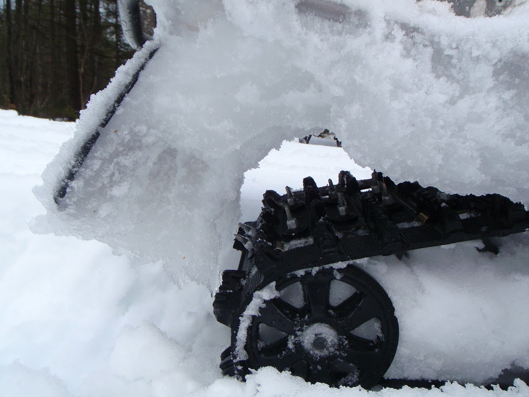 Tunnel blockoff for icing ty4stroke snowmobile forum for Yamaha nytro tunnel