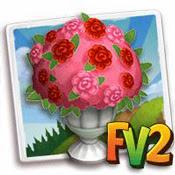 rose flowerpot