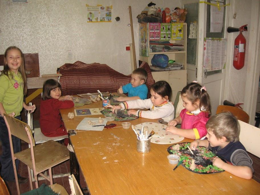 Группа дошкольников 2011-2012