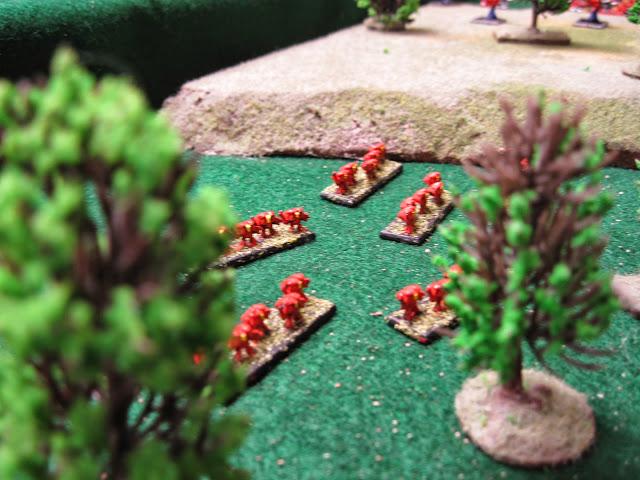 Jimmy's Assault Marines slinking through the woods.