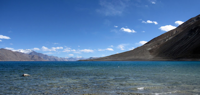 Pangong Tso. Tso means Lake in Ladakhi.