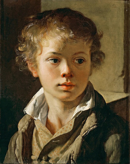 Vasily Tropinin - Portrait of A.V.Tropinin - Google Art Project