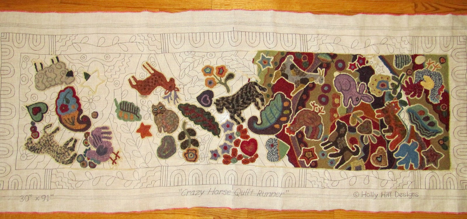 Amy's Dusty Trail: Crazy Horse Quilt