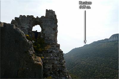 Txulato desde el castillo de Portilla