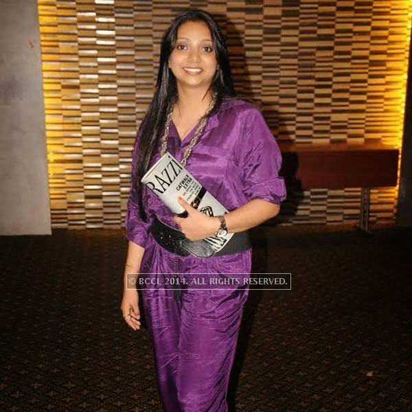 Radhika Daff  at at reunion bash of GH Raisoni College at Hotel Centre Point in Nagpur.