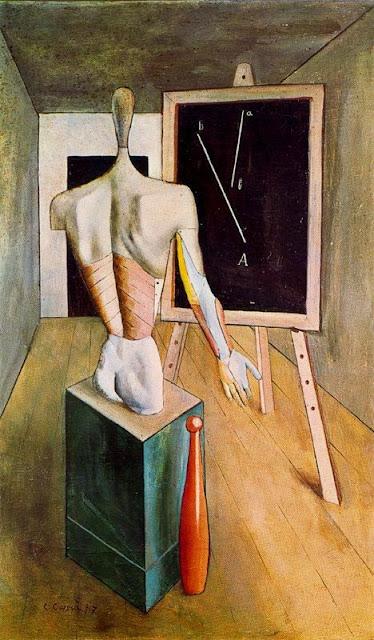 Carlo Carrà - Loneliness, 1917